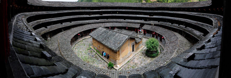 La tribu des Hakkas, Kè Jīa Rén 客家人 et leurs habitations en terre Tu Lou, Tǔ Lóu 土楼