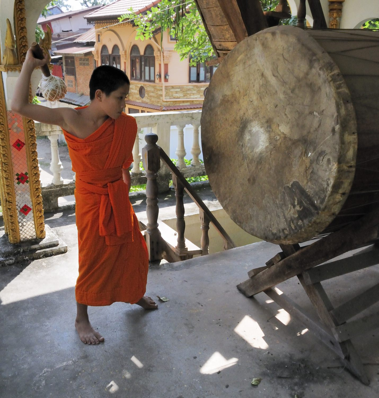 Temple Wat Hai Sok, Vientiane, Laos