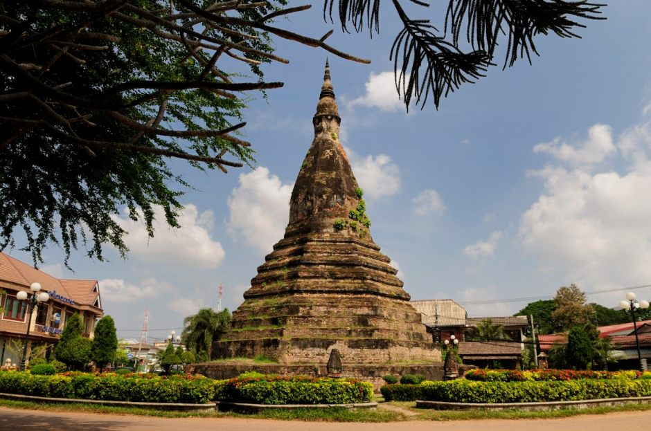Visite de Vientiane, Laos : That Dam