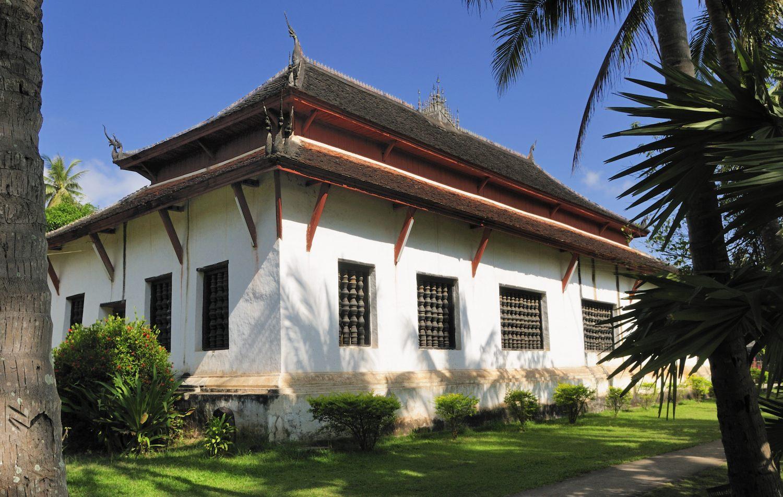 Temple Wat Visoun, Luang Prabang, Laos