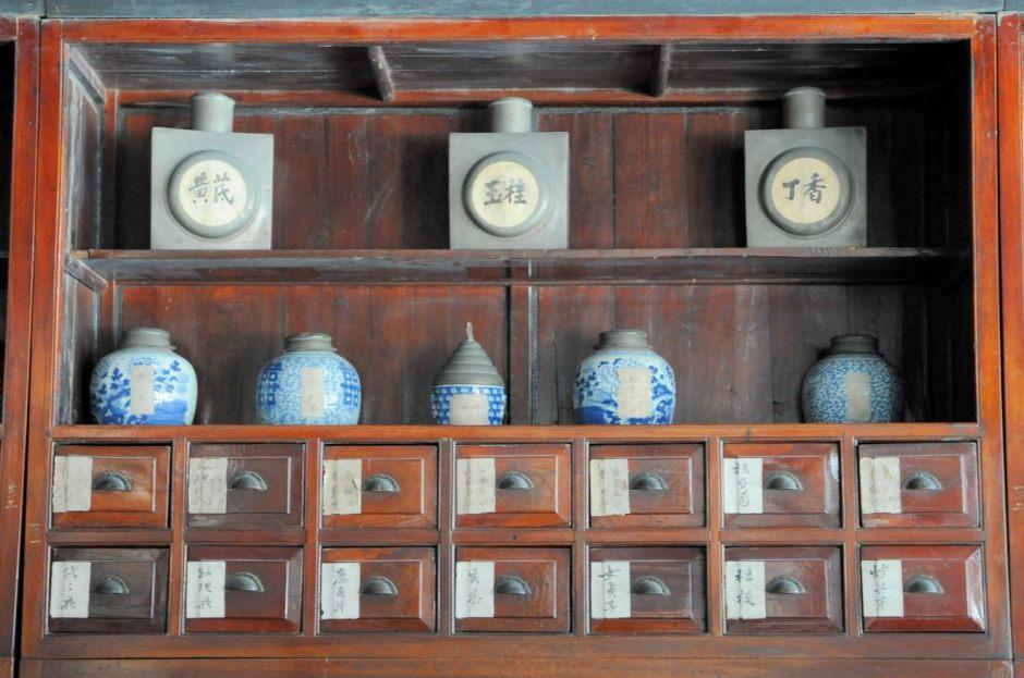 Ancienne pharmacie de Wuzhen, Zhejiang, Chine