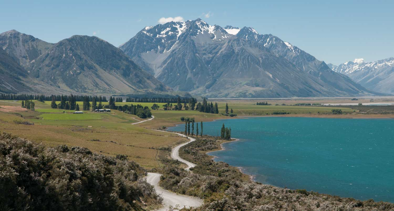 Lac Ohau, Ile du Sud, Nouvelle-Zélande