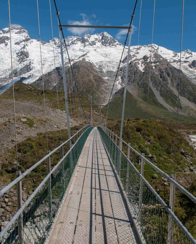 Mont Cook, Ile du Sud, Nouvelle-Zélande