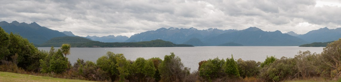Le lac Manapouri