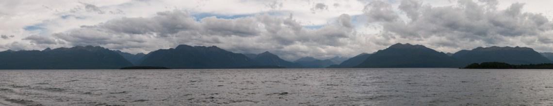Le lac Te Anau