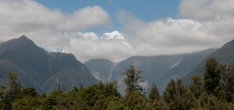 Route Haast Hokitika, Ile du Sud, Nouvelle-Zélande : lac Matheson