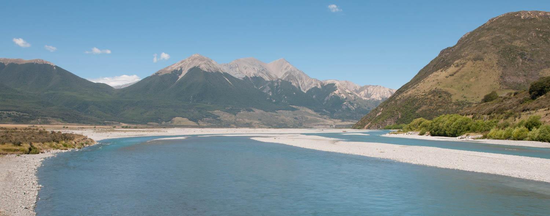 Arthur Pass, Ile du Sud, Nouvelle-Zélande