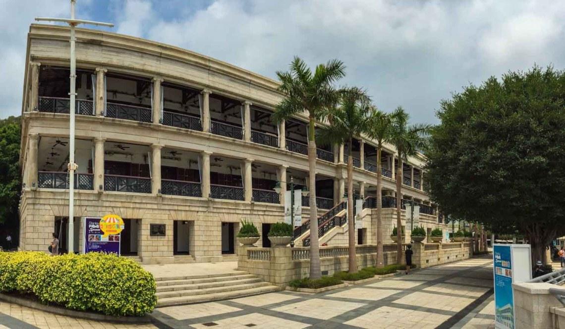 Village de Stanley, sur la cote Sud de l'île de Hong-Kong