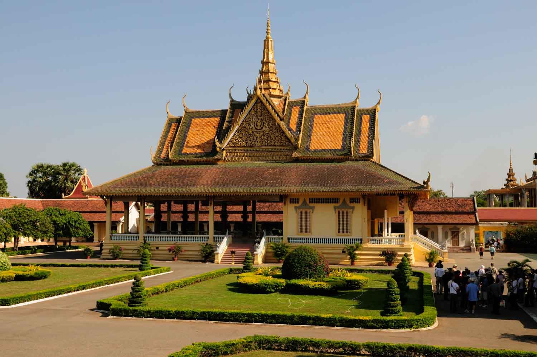 Palais Royal et Pagode d'argent, Phnom Penh, Cambodge