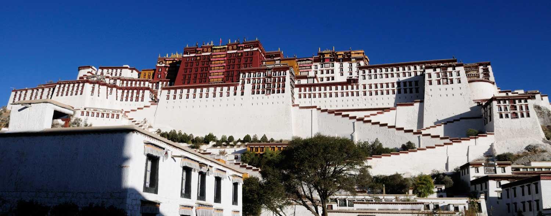 Palais du Potala, Bùdálā Gōng 布达拉宫, Lhasa, Tibet