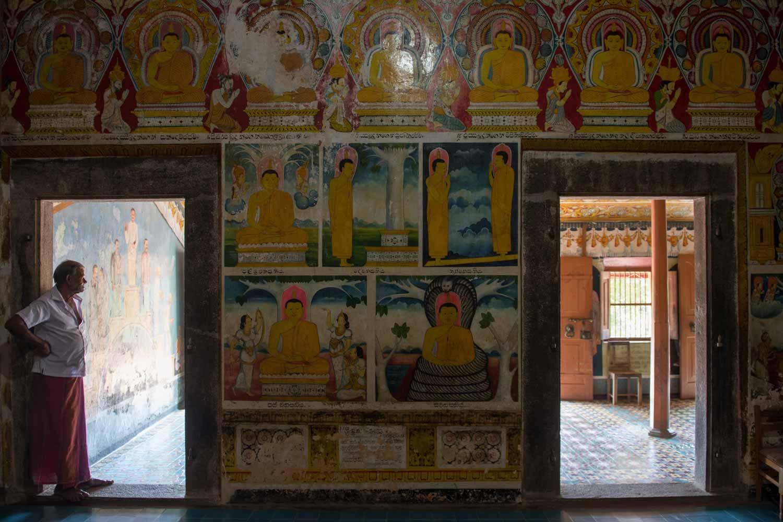 Temple Yatagala Raja Maha Viharaya, Sri Lanka