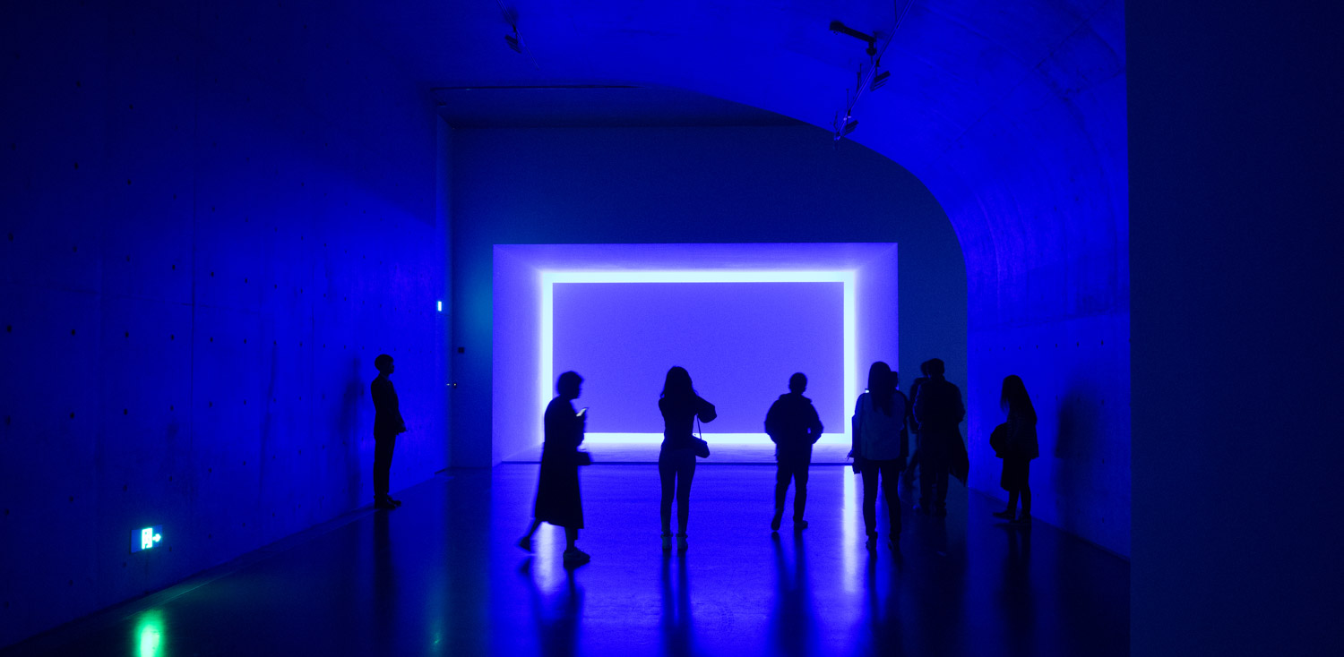 Exposition James Turrell, Long Museum West Bund, Shanghai