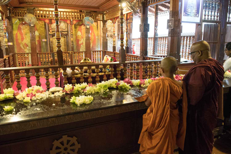 Sri Dalada Maligawa (Temple de la dent sacré), Kandy, Sri Lanka