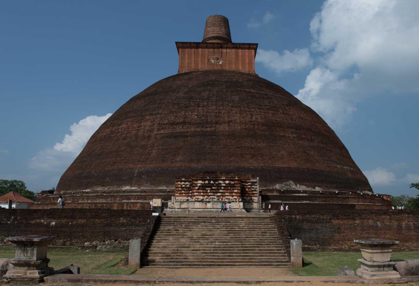 Jethawanaramaya Stupa, Anuradhapura, Sri Lanka