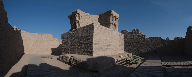 Jiaohe Ruins 交河故城, Turpan 吐鲁番, Xinjiang 新疆