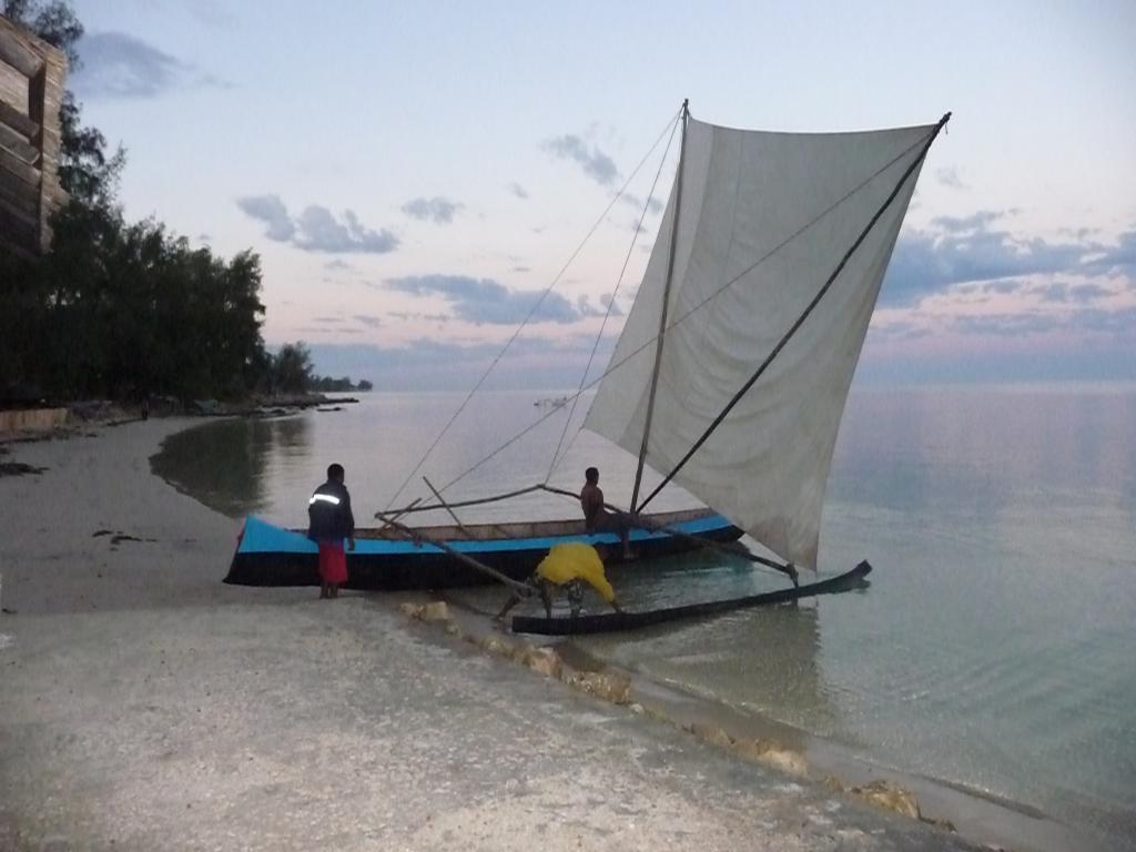 bateau traditionnel île de madagascar