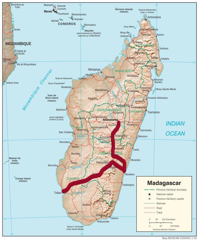 itinéraire île de Madagascar