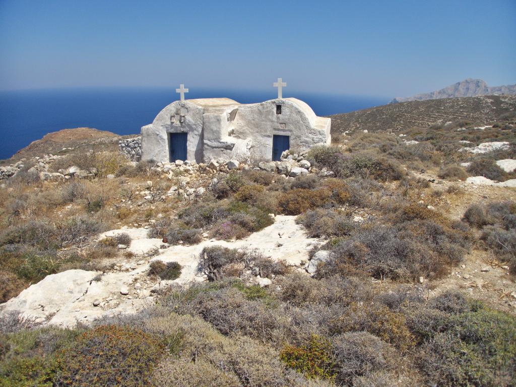 petite chapelle cycladienne