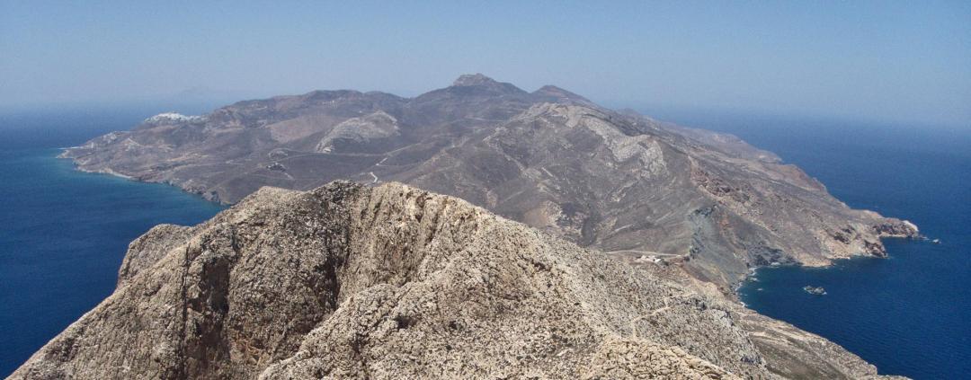 Anafi dans les Cyclades