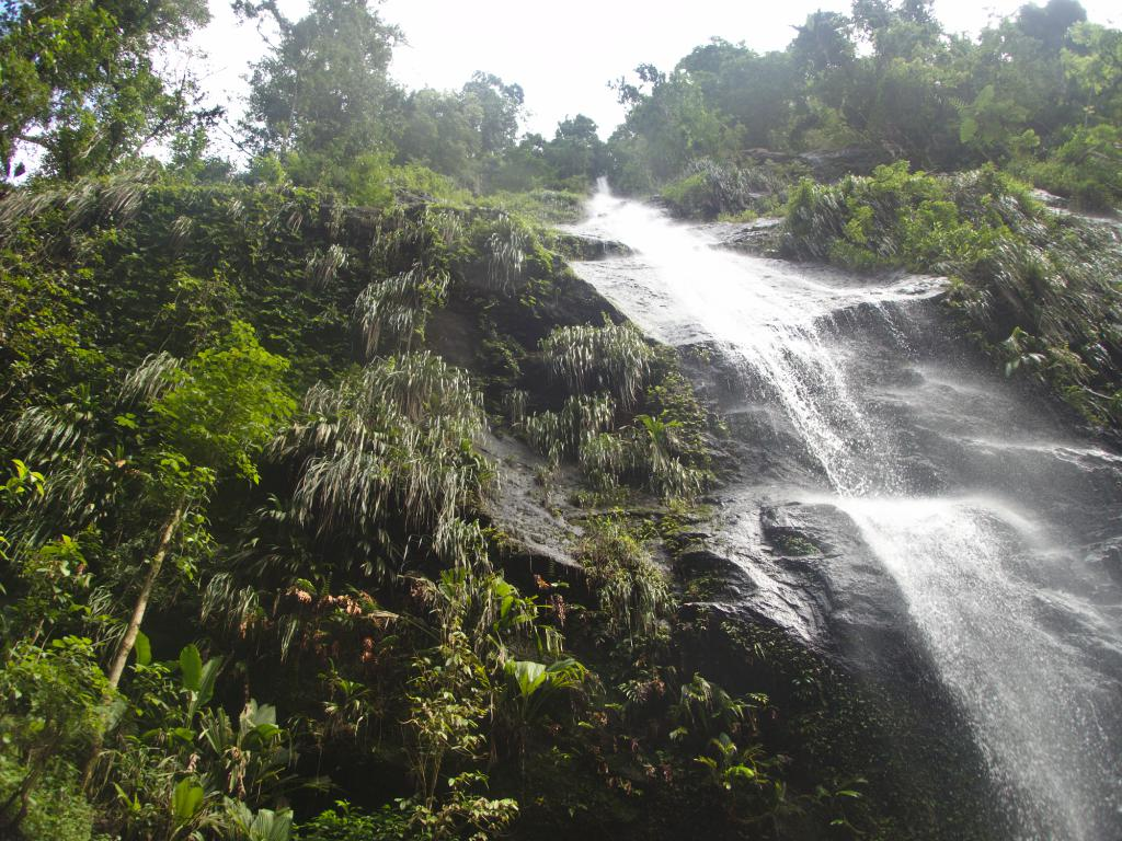 cascade du nord de la martinique dans les caraibes