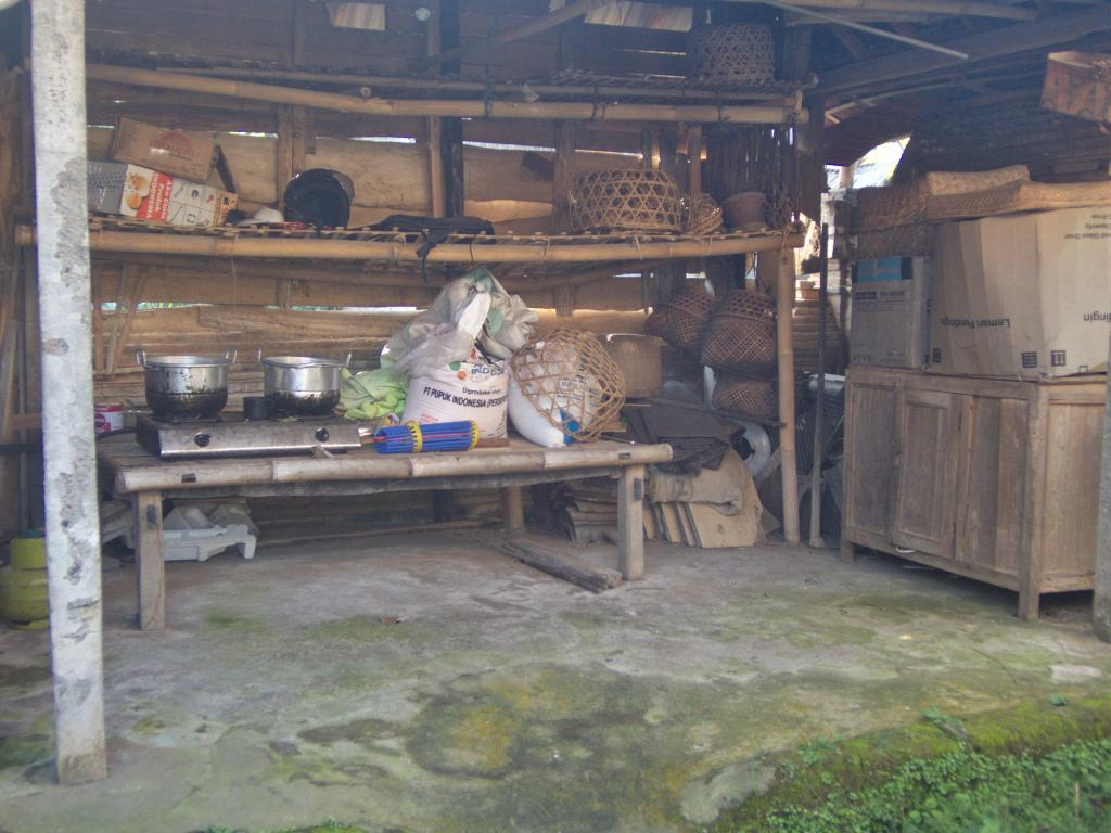 cuisine d'un balé en indonésie