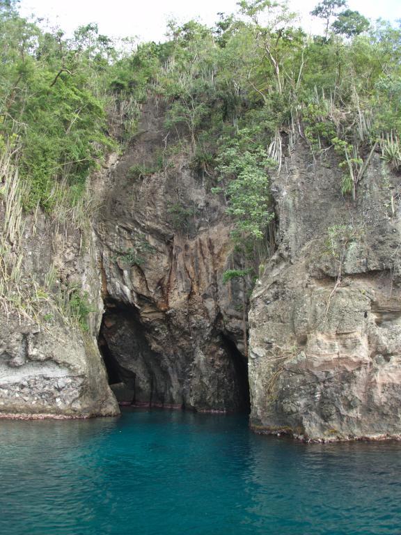 Grotte aux chauves-souris en Martinique dans les Caraibes
