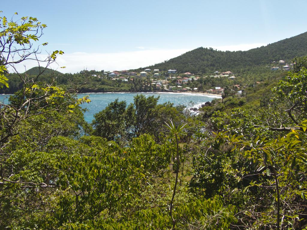 Randonnée sur Terre de Bas dans les Saintes en Guadeloupe