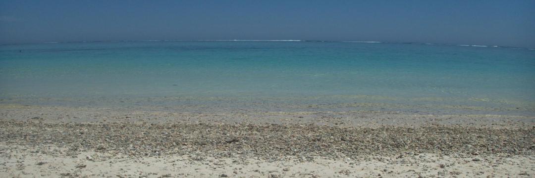 Accéder à la barrière de corail depuis turquoise bay