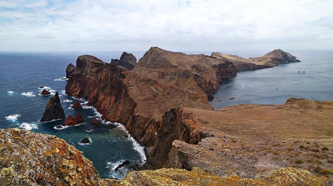 pointe de Sao Lourenco sur l'île de Madère