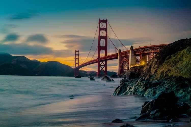 san francisco bridge photo