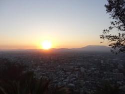 Atardecer desde el cerro San Felipe