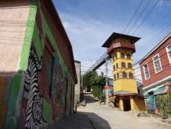 Cerro Polanco y su ascensor (la zona con mejor arte callejero)