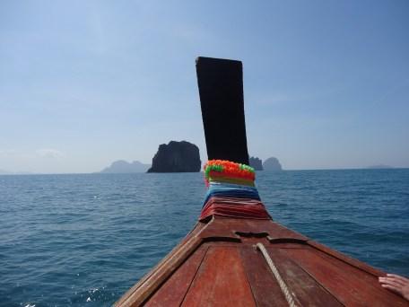 Y comienza la excursión, de camino a las 4 islas