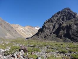 Este bonito valle glacial era el escenario de nuestra caminata