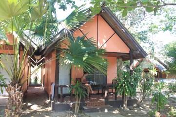 Nuestra primera cabañita en Koh Lanta
