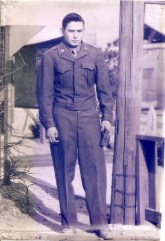 Raymond LaForest, Bay City, Michigan, US Army, Korea. Courtesy of Jesse LaForest.