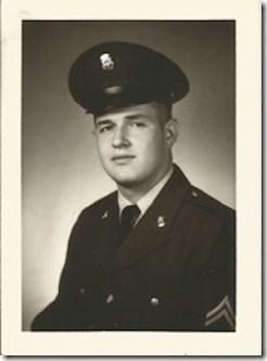 Walter L. Poirier, Cheboygan, Michigan, US Army, Vietnam. Courtesy of Marjorie Poirier Thibeault.