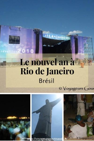Le nouvel an à Rio de Janeiro