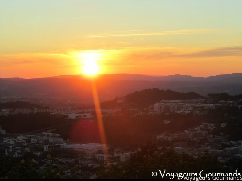Circuit autour de Porto : Braga Bom Jesus