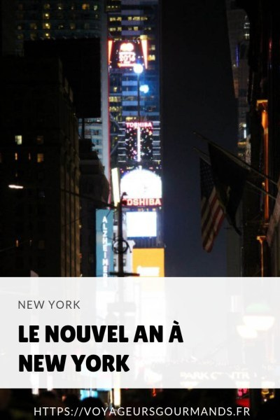 nouvel an a new york