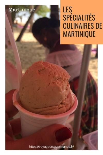 Les spécialités culinaires de Martinique