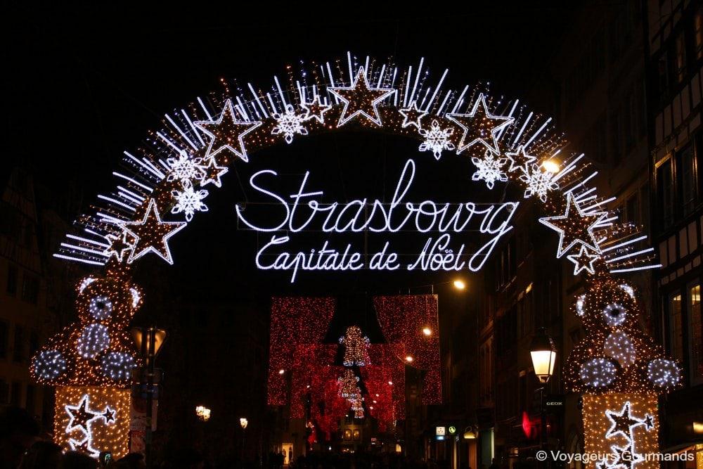Dimanche gourmand aux marchés de Noel de Strasbourg