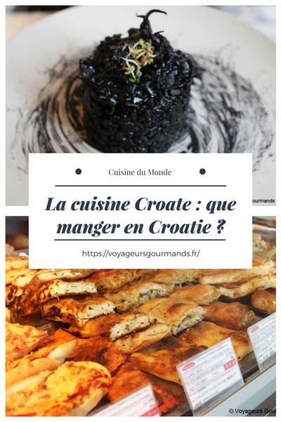 cuisine croate