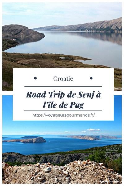 De Senj à l'île de Pag