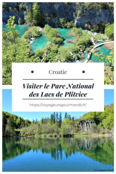 Visiter le Parc National des Lacs de Plitvice
