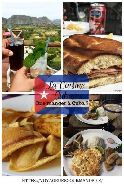 Cuisine Cubaine