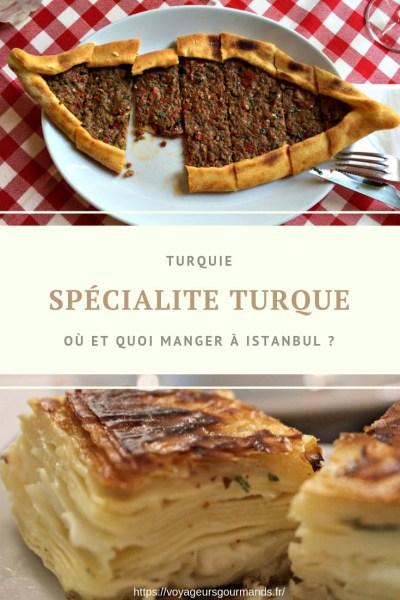 Spécialite turque