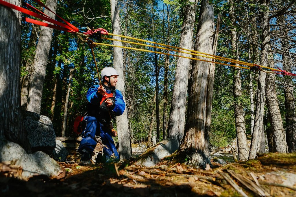 Whitewater Rescue Technician Course Mechanical Advantage System
