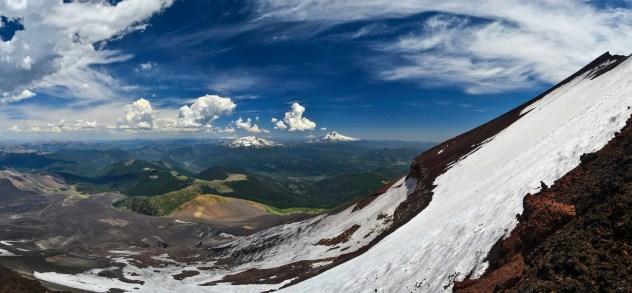 Volcan Lonquimay, Chili