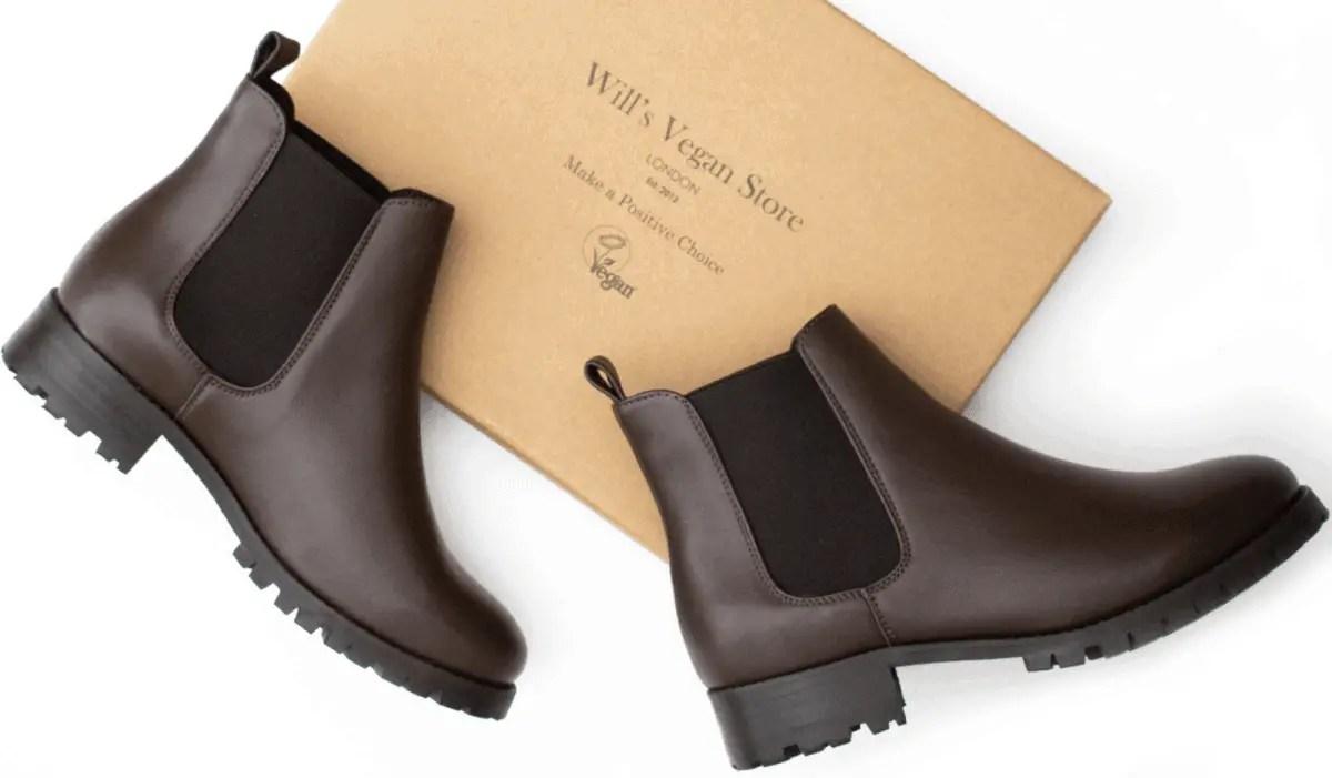 womens vegan chelsea boots